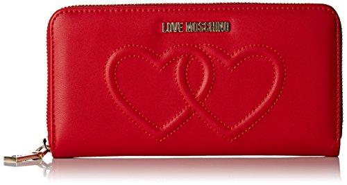Love Moschino Moschino - Portafogli Donna, Rot (Re...