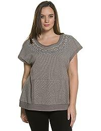 Ulla Popken Femme Grandes tailles Sweat-shirt 708868