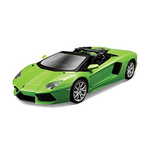 LIUFS-Coche De Aleación 1:24 Lamborghini Lp7004 Montado Modelo Aleación Coche Deportivo Original Fábrica (Color : Green)