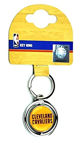 NBA Team Spinner Keyring, Cleveland Cavaliers