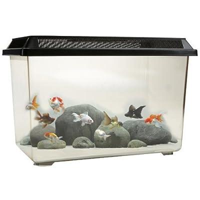 Ocean Free Pt068 Goldfish 12l Fish Tank Bowl Starter Kit Reptile Vivarium Turtle Tank Or Breeding Box