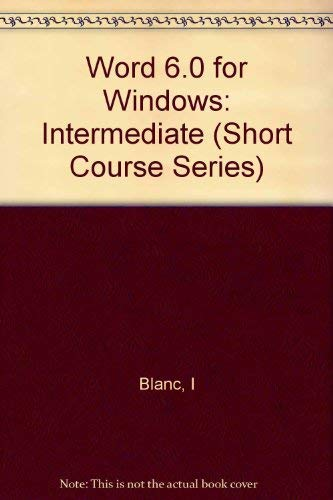 Iris Window (Word 6 Windows Intermediate (Short Course Series))