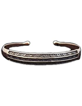 Armreif Historic aus Bronze Armkette Bronzearmband Gothic Halsband LARP Kette Wikinger