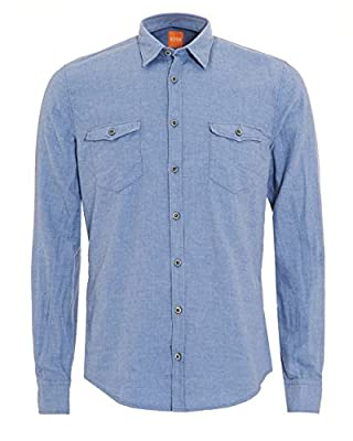Boss Orange Men's Edoslime Casual Shirt