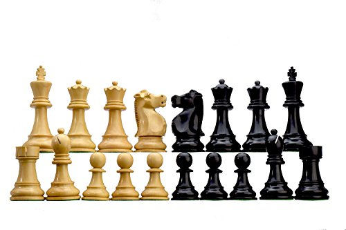 ROOGU Fisher-Spassky WCC Staunton Figure Chess Pieces Wood Set.