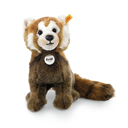 Steiff 066108 - Bendy Red Panda 32, rotbraun