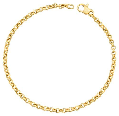 Orleo - REF2293BB : Bracelet Femme Or 18K jaune - Maille Jaseron