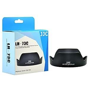 JJC LH-73C - Pare-soleil équivalent Canon EW-73C - pour Canon EF-S 10-18mm f/4.5-5.6 IS STM