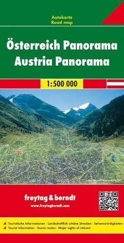 Österreich Panorama 1 : 500 000. Autokarte (freytag & berndt Auto + Freizeitkarten)