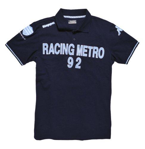 d7ee8a4c69e39 Polo Rugby – Colección oficial – Racing Metro 92 – Kappa – Top 14 – Talla