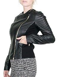 Amazon.it  giacca pelle donna - Liu Jo Jeans   Donna  Abbigliamento b17b3233cd3