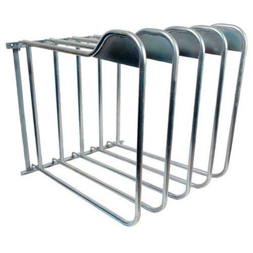 StableKit Pferdedecken Halterung 5-Arm (Einheitsgröße) (Silber)