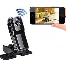 Mengshen portátil más pequeño Wifi cámara inalámbrica IP Cam MINI DV para el hogar de viajes de oficina Deportes bolsillo-tamaño videocámara MS-MD81