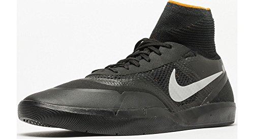 Nike 860627-008, Scarpe da Skateboard Uomo Nero
