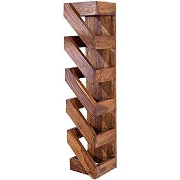 FineBuy Weinregal Massiv-Holz 40x40x25 cm klein stehend