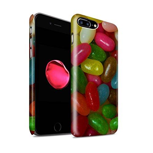 STUFF4 Matte Snap-On Hülle / Case für Apple iPhone 8 Plus / Fruit Pastilles Muster / Bonbons/Süßigkeiten Kollektion Jelly Beans