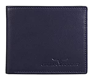Urban Forest Dakota Black Leather Wallet for Men - Packed in Traditional/Festive Box for Diwali Gifting