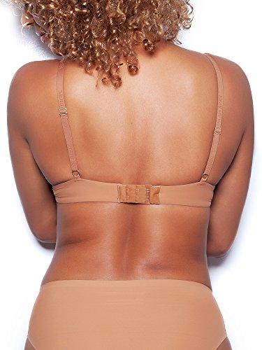 51a92703afa Nubian Skin The Essential T-Shirt Bra, Sujetador básico para Mujer, Marrón  (Cafe) 105E