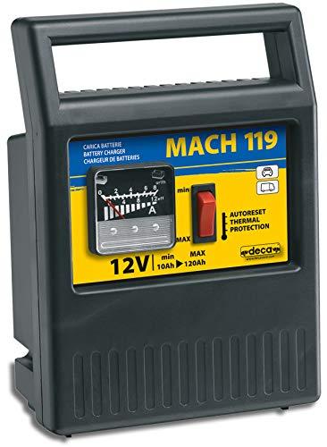 Deca 303200 Caricabatteria Tradizionale Compatto Portatile Mach 119