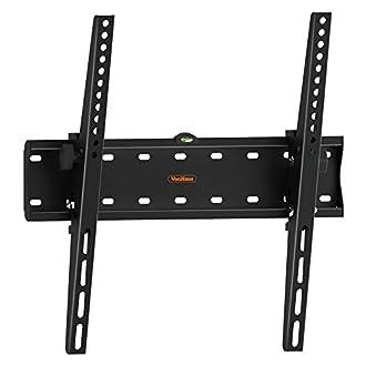 VonHaus 26-55 Inch Tilt TV Wall Bracket - Tilting Mount for VESA Compatible Screens, 40kg Weight Capacity