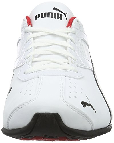 Puma Tazon 6 FM, Chaussures de Cross Homme, 39 EU Blanc (White-black-silver)