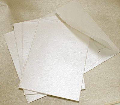 Arazzo cotone bianco applique C6con chiusura autoadesiva 20per confezione