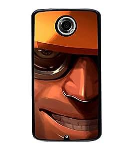 PrintVisa Designer Back Case Cover for Motorola Nexus 6 :: Motorola Nexus X :: Motorola Moto X Pro :: Google Nexus 6 (Graphical Image of Engineer)