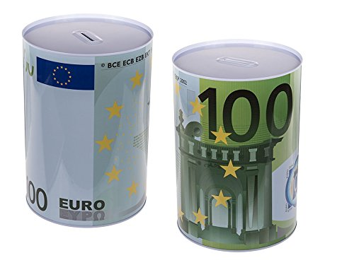Out of the Blue XXXL Spardose,Sparbüchse 100 Euro-Note
