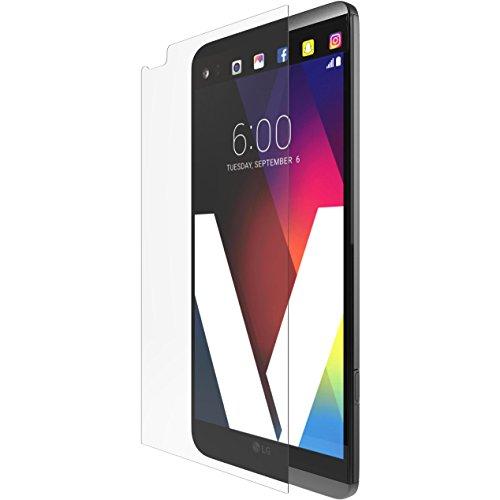 Tech21Impact Shield Self Heal Film de protection d'écran autocicatrisant résistant aux chocs anti-chocs pour Samsung LG G5–Transparent Transparent