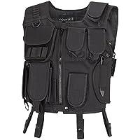 Paintball Vest con un sacco di spazio per guanti, Vernice, Palline e altri accessori, - black,
