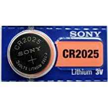 Sony CR2025 3V Lithium Manganese Dioxide Battery (5Pcs per pack)