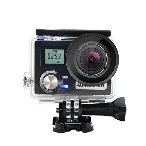 CLN Sport-Kamera, Ultra-dünne 4K Sportkamera wasserdichte Kamera