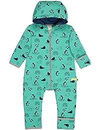 loud + proud Unisex Baby Overall Druck aus Bio Baumwolle, GOTS Zertifiziert Strampler