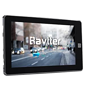 baytter 7 zoll gps navigationsger t navi navigation mit 45. Black Bedroom Furniture Sets. Home Design Ideas
