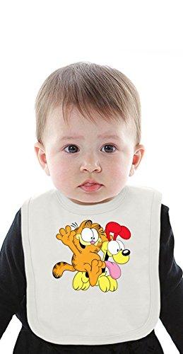 Garfield And Odie Organic Baby Bib With Ties Medium d'occasion  Livré partout en Belgique
