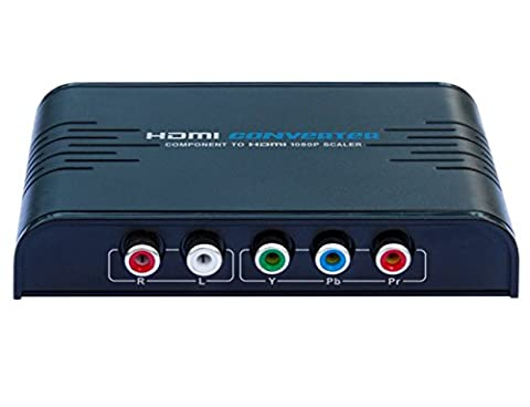 WenL YPbPr To HDMI Video Converter Support Full HD 1080p