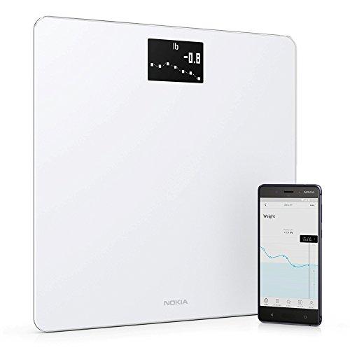 Nokia Body – Báscula WiFi medidora de IMC, blanco