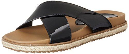 XTI - Black Mirror Pu Ladies Sandals ., Sandali Donna nero (nero)
