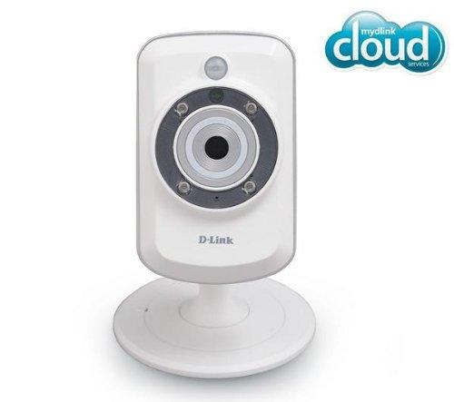 D-Link DCS-942L Wireless N Home IP Kamera (Tag und Nacht, Aufzeichnungen auf die enthaltene Micro-SD-Karte, mydlink-App für iOS und Android)