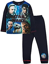 Disney Boys Kids Star Wars Pyjamas Pjs Set Size UK 4-10 Years
