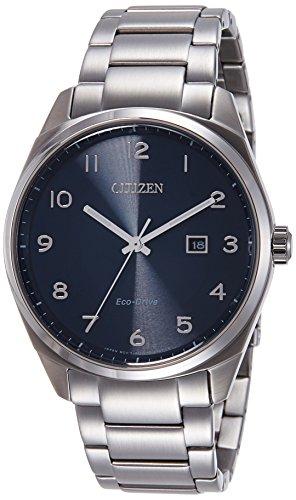 Citizen Herren-Armbanduhr Analog Quarz Edelstahl BM7320-87L