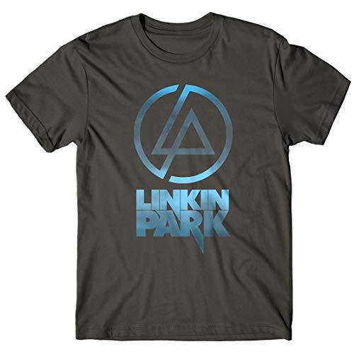 LaMAGLIERIA Camiseta Hombre Linkin Park - Sky Texture Logo...