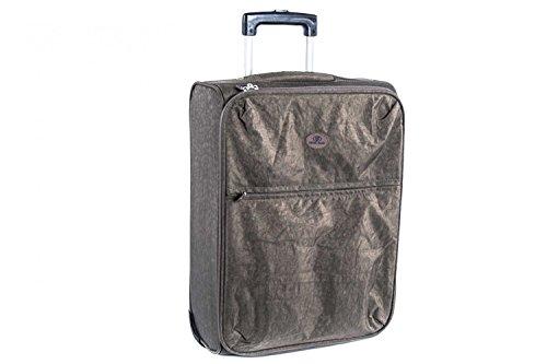 Valigia trolley semirigido SWISH JEANS taupe mini bagaglio ryanair S70