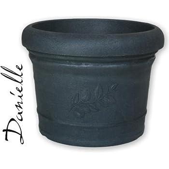 pflanzk bel montana rund 80 cm terracotta aus kunststoff. Black Bedroom Furniture Sets. Home Design Ideas
