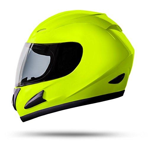 ATO Moto Neon Größe L 59-60cm Integralhelm Motorradhelm Quadhelm mit ECE 2205