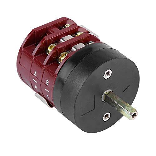 Outbit Vorwärts-Rückwärts-Schalter - 1 PC mit 220V / 380V 32A-Reifenwechsler-Maschinenmotor Vorwärts-Rückwärts-Schalter, Turn Table-Pedal-Schalter.