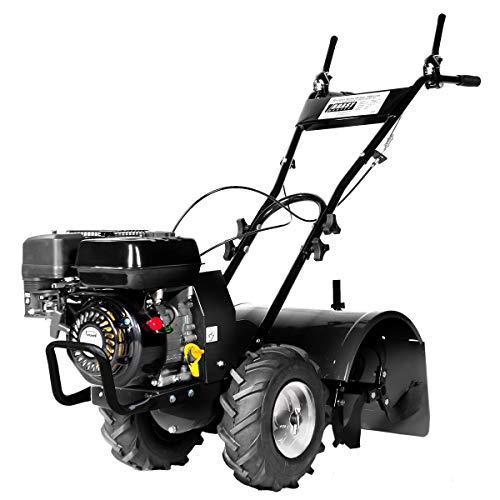 BRAST Benzin Gartenfräse Ackerfräse Motorhacke Bodenfräse 196ccm 4,8kw (6,5PS)