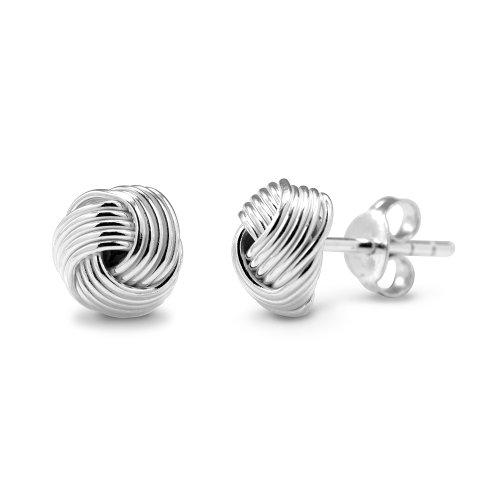 925-sterling-silver-classic-love-knot-stud-earrings