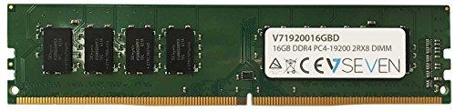 Preisvergleich Produktbild V7 V71920016GBD Desktop DDR4 DIMM Arbeitsspeicher 16GB (2400MHZ, CL17, PC4-19200, 288pin, 1.2V)