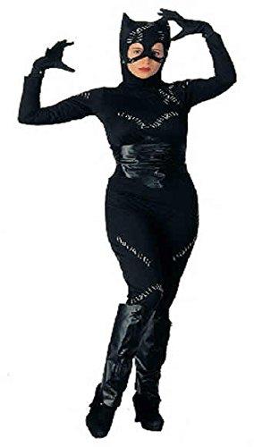 Zeichentrick Catwoman Damenkostüm Karneval Verkleidung Damen